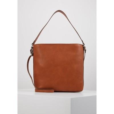 エスプリ ハンドバッグ レディース バッグ Handbag - rust brown