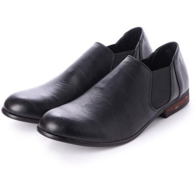 SFW デデス Dedes 軽くて履きやすくて歩きやすい シンプルで合わせやすく履いた時のシルエットがきれいなサイドゴアブーツ/5234 (ブラック)