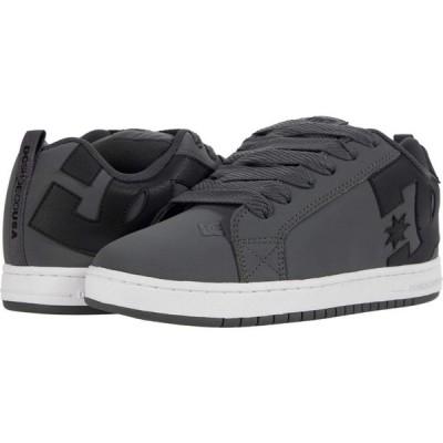 ディーシー DC メンズ スニーカー シューズ・靴 Court Graffik Dark Grey/Black/White