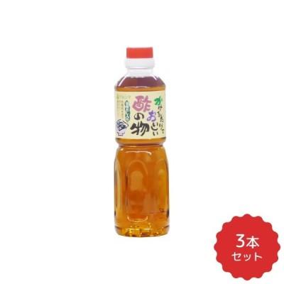 マルシマ かけるだけでおいしい 酢の物酢 (ペットボトル) 500ml×3本セット