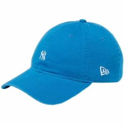 【新品】ニューエラ 930キャップ クローズストラップ ニューヨークヤンキース スモールロゴ コットン ブルー New Era NewEra