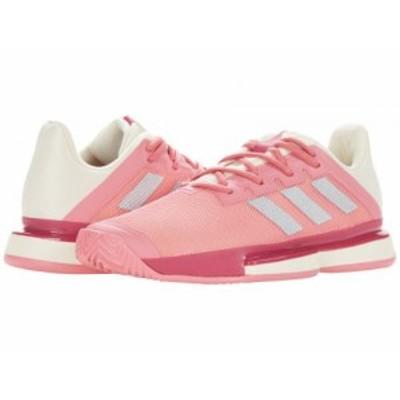 adidas アディダス レディース 女性用 シューズ 靴 スニーカー 運動靴 SoleMatch Bounce Hazy Rose/Silver Metallic/Acid【送料無料】