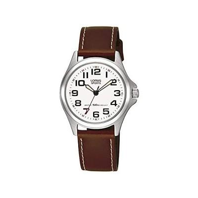 【新品・送料無料】レザーストラップRRS51LX9とLORUSレディースアナログクォーツ時計