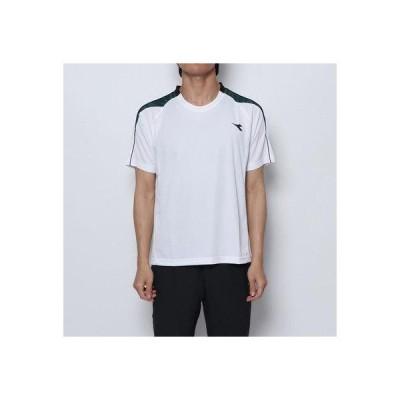 ディアドラ Diadora メンズ テニス 半袖Tシャツ DIADRYトップ DTP9533