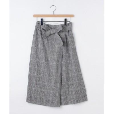 OFF PRICE STORE(Women)(オフプライスストア(ウィメン)) HUMAN WOMANリネンリボンスカート