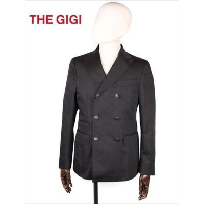 THE GIGI ザ・ジジ 6B ダブルブレスト テーラードジャケット ブラック MIRO DP H246 国内正規品