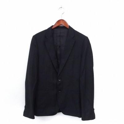 【中古】ジャーナルスタンダード JOURNAL STANDARD ジャケット アウター テーラード ポケット シンプル M ブラック /ST6 メンズ 【ベクトル 古着】