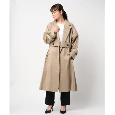 ROYAL FLASH / SUGAR ROSE / シュガーローズ / デザイントレンチコート WOMEN ジャケット/アウター > ステンカラーコート