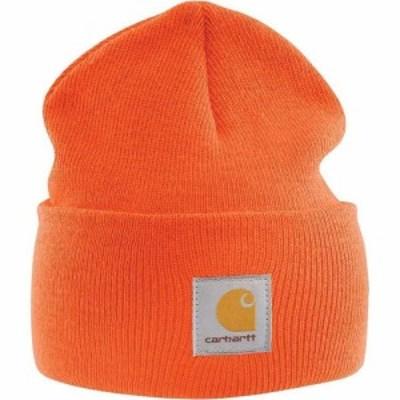 カーハート Carhartt ユニセックス 帽子 ニットキャップ Acrylic Watch Hat Brite Orange