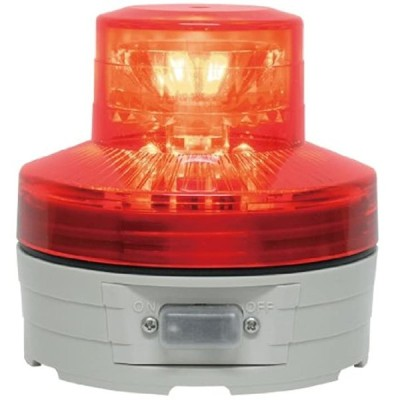 日動 ニコUFO 常時点灯 赤 NU-AR(赤, 高さ(mm):75,径(mm):76)
