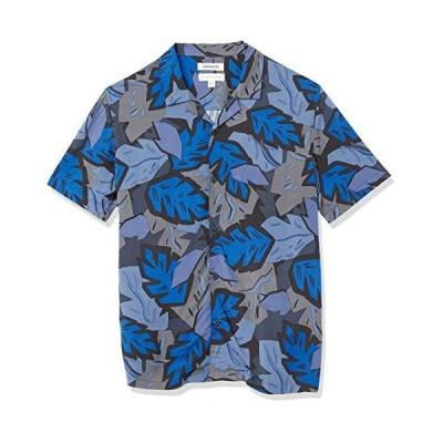 Goodthreads シャツ Standard-Fit Short-Sleeve Camp Collar Hawaiian Shirt メンズ