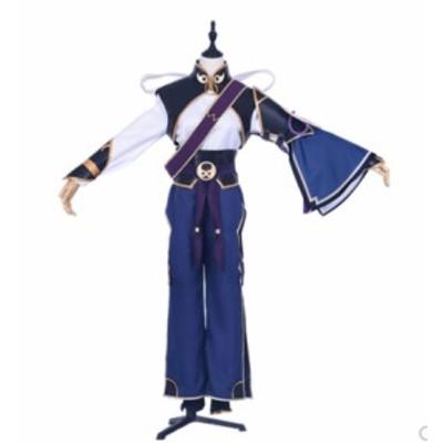 Fate Grand Order FGO  蘭陵王  風★ コスプレ衣装   * K4770