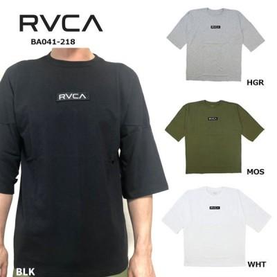 10%OFF RVCA Tシャツ  メンズ レディース TEEシャツ ルーカ ルカ 半袖 BA041-218