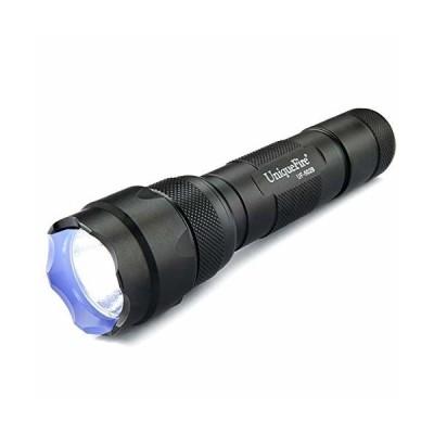 Uniquefire LED UV 懐中電灯 ブラックライト ミニサイズ 携帯用 UVハンドライト 紫外線ランプ レンズの殺菌*脱色 部