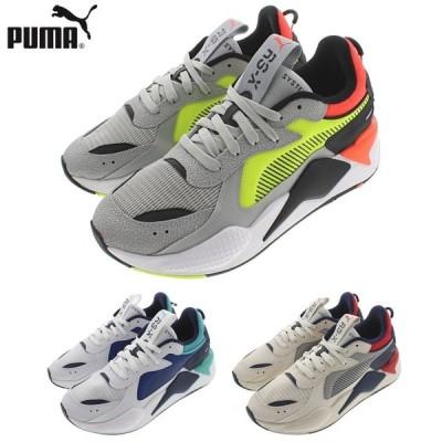 プーマ PUMA スニーカー RS-X ハード ドライブ RS-X Hard Drive 369818 ハイライズ(01) プーマホワイト(02) ウィスパーホワイト(03)