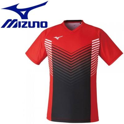 メール便送料無料 ミズノ ゲームシャツ(ラケットスポーツ) メンズ 72MA100462