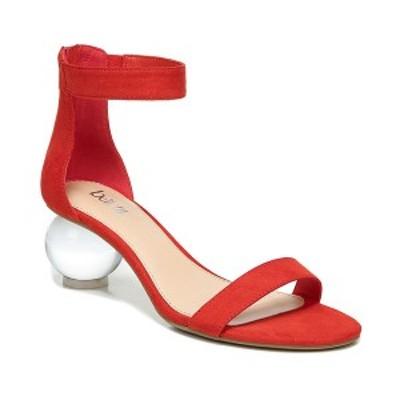 バースリー レディース サンダル シューズ Cheryyl Ball-Heel Sandals Red Micro