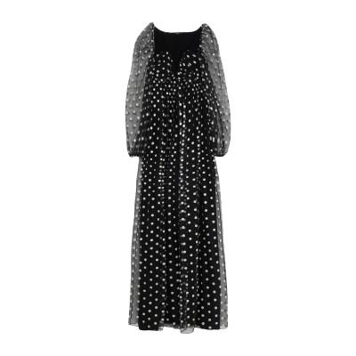 カルラ ジー CARLA G. ロングワンピース&ドレス ブラック 40 ポリエステル 100% ロングワンピース&ドレス
