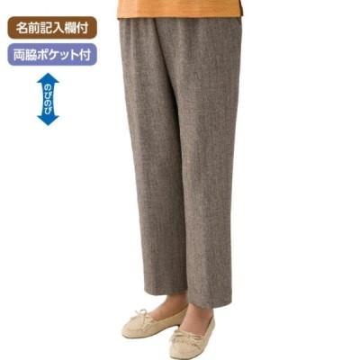 婦人縦伸びストレートパンツ 89210 膝下がストレートで、足が長く見えるストレッチパンツ