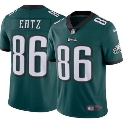 ナイキ Nike メンズ トップス Philadelphia Eagles Zach Ertz #86 Green Limited Jersey