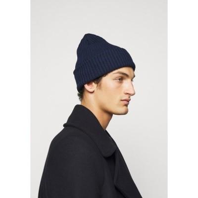 ガーメント プロジェクト 帽子 メンズ アクセサリー Beanie - navy