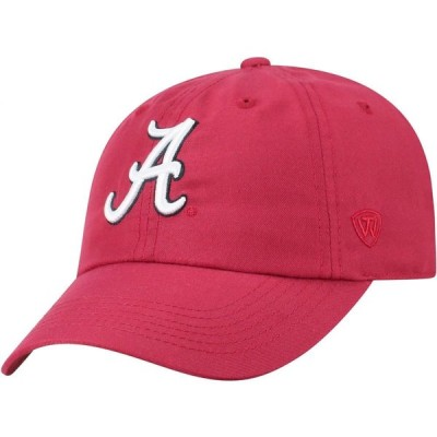 トップオブザワールド Top of the World メンズ キャップ 帽子 Alabama Crimson Tide Crimson Staple Adjustable Hat