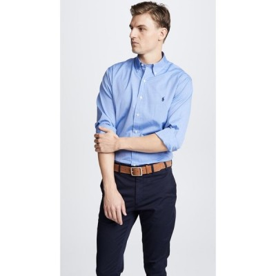 ラルフ ローレン Polo Ralph Lauren メンズ シャツ トップス Slim Stretch Poplin Shirt Blue End on End