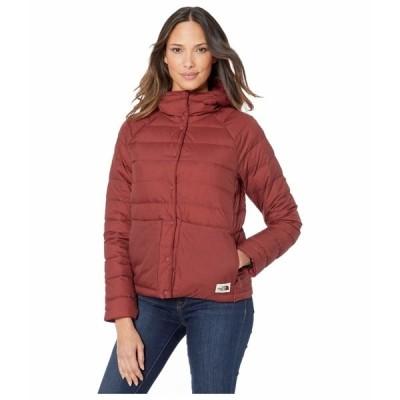 ノースフェイス コート アウター レディース Leefline Lightweight Insulated Jacket Barolo Red