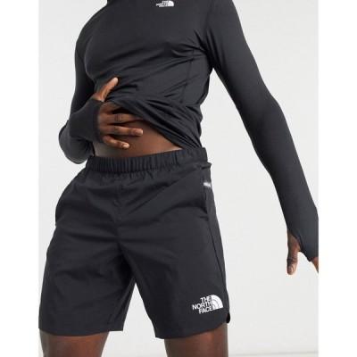 ザ ノースフェイス The North Face メンズ ショートパンツ ボトムス・パンツ Mountain Athletic Woven short in black ブラック
