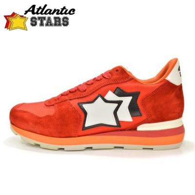 スニーカー アトランティックスターズ メンズ Atlantic STARS eas16w003 ANTARES FR-85B:レッド