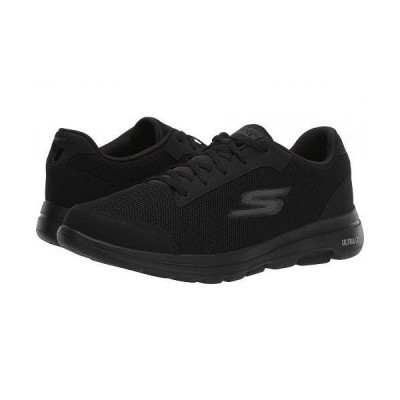 SKECHERS Performance スケッチャーズ メンズ 男性用 シューズ 靴 スニーカー 運動靴 Go Walk 5 - Demitass - Black