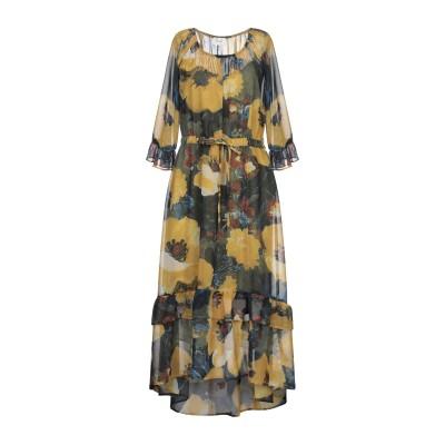 VICOLO 7分丈ワンピース・ドレス ビタミングリーン S ポリエステル 100% 7分丈ワンピース・ドレス