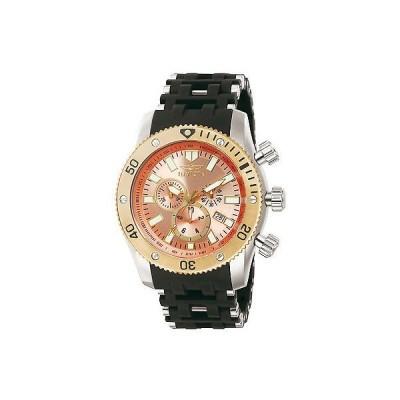 インヴィクタ 腕時計 Invicta メンズ 13856 Sea Spider ローズ ゴールド ダイヤル スポーツ ステンレス スチール 腕時計