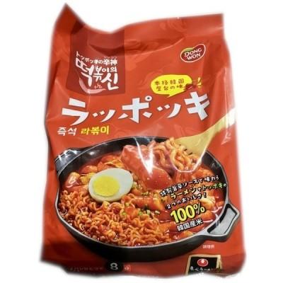 ラッポッキ (3人前×3セット) 9人前 1512g 韓国 屋台風 本場の味 韓国料理  大容量