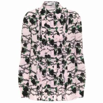 ヴァレンティノ Valentino レディース ブラウス・シャツ トップス Printed silk blouse