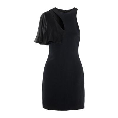 クシュニー・エ・オクス CUSHNIE ミニワンピース&ドレス ブラック 4 レーヨン 97% / ポリウレタン 3% ミニワンピース&ドレス