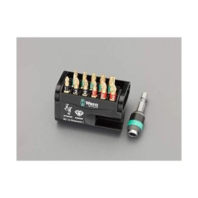 ESCO エスコ 11本組ビットセット(Bi-Torsion・ダイヤモンド付) EA611AD-50