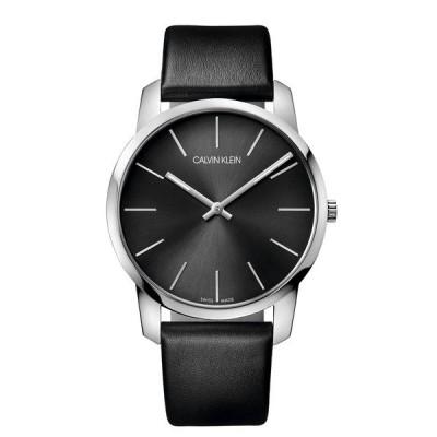 腕時計 [カルバンクライン] CALVIN KLEIN 腕時計 City(シティ) 2針 シルバー×クールグレー