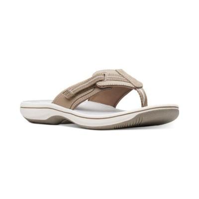 クラークス Clarks レディース サンダル・ミュール シューズ・靴 Cloudsteppers Brinkley Jazz Sandals Sand