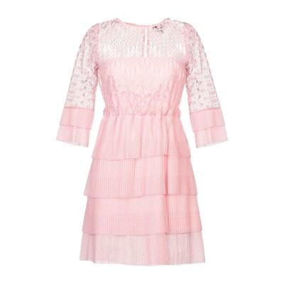 ジャストカヴァリ JUST CAVALLI ミニワンピース&ドレス ピンク 36 ポリエステル 100% ミニワンピース&ドレス