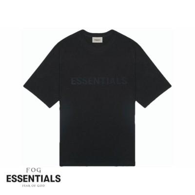 フィアオブゴッド エッセンシャルズ FOG Fear Of God SS20 Essentials Short Sleeve Tee Black ブラック Tシャツ 半袖 メンズ アメリカ 正規品[衣類]
