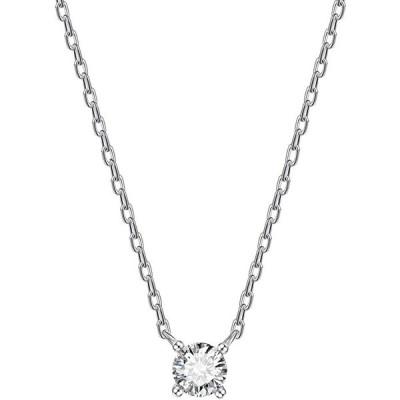 ネックレス レディース ネックレス ペンダント 一粒 CZダイヤモンド 金属アレルギー対応 925 シルバー ファッション ジュエリー  FZ-FZ00SJZSN