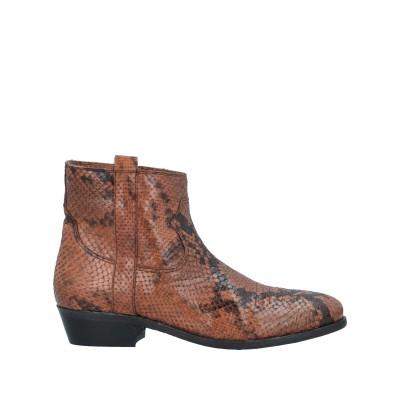 I.N.K. Shoes ショートブーツ ブラウン 37 革 ショートブーツ