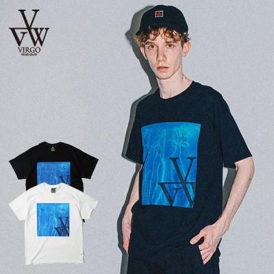 VIRGO バルゴ ヴァルゴ 半袖 Tシャツ tシャツ MICROCOSM メンズ おしゃれ