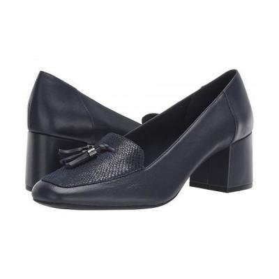 Anne Klein アン クライン レディース 女性用 シューズ 靴 ヒール Etonia - Navy