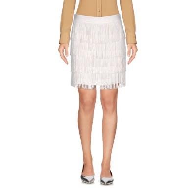 ピンコ PINKO ミニスカート ホワイト 42 ポリエステル 100% ミニスカート
