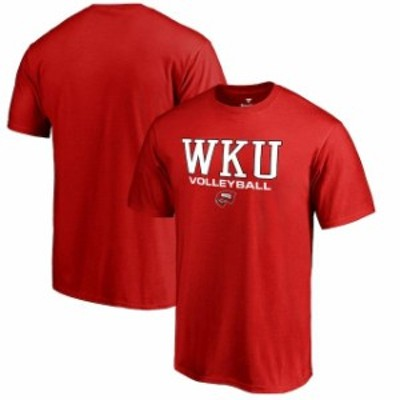 Fanatics Branded ファナティクス ブランド スポーツ用品  Fanatics Branded Western Kentucky Hilltoppers Red True Sport Volleyball T
