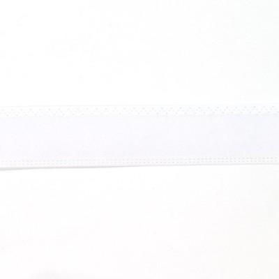 \期間限定10%OFF/  帽子用テープ テトロンスベリ 芯有(NIS) 30mm 白 (H)_6b_