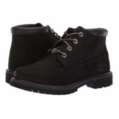ティンバーランド Timberland レディース ブーツ チャッカブーツ シューズ・靴 Nellie Chukka Black Nubuck