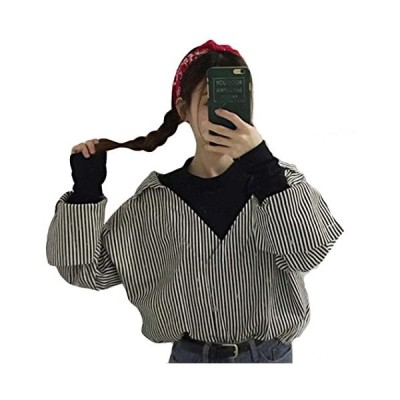 レディース シャツ 秋 レディース ボリュームスリーブ シャツ 長袖 ゆるシャツ 無地 薄手 ワンサイズ カジュアル シャツ(s2111130202)